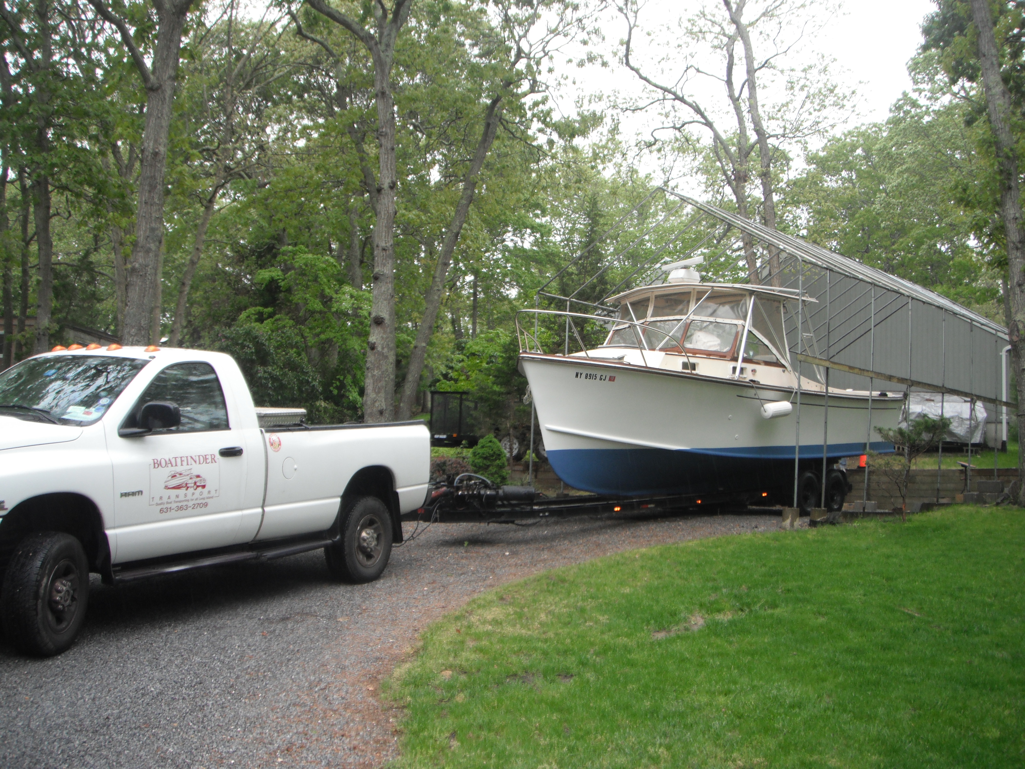 Insured Boat Hauling | Boat Movers | Long Island | Patchogue