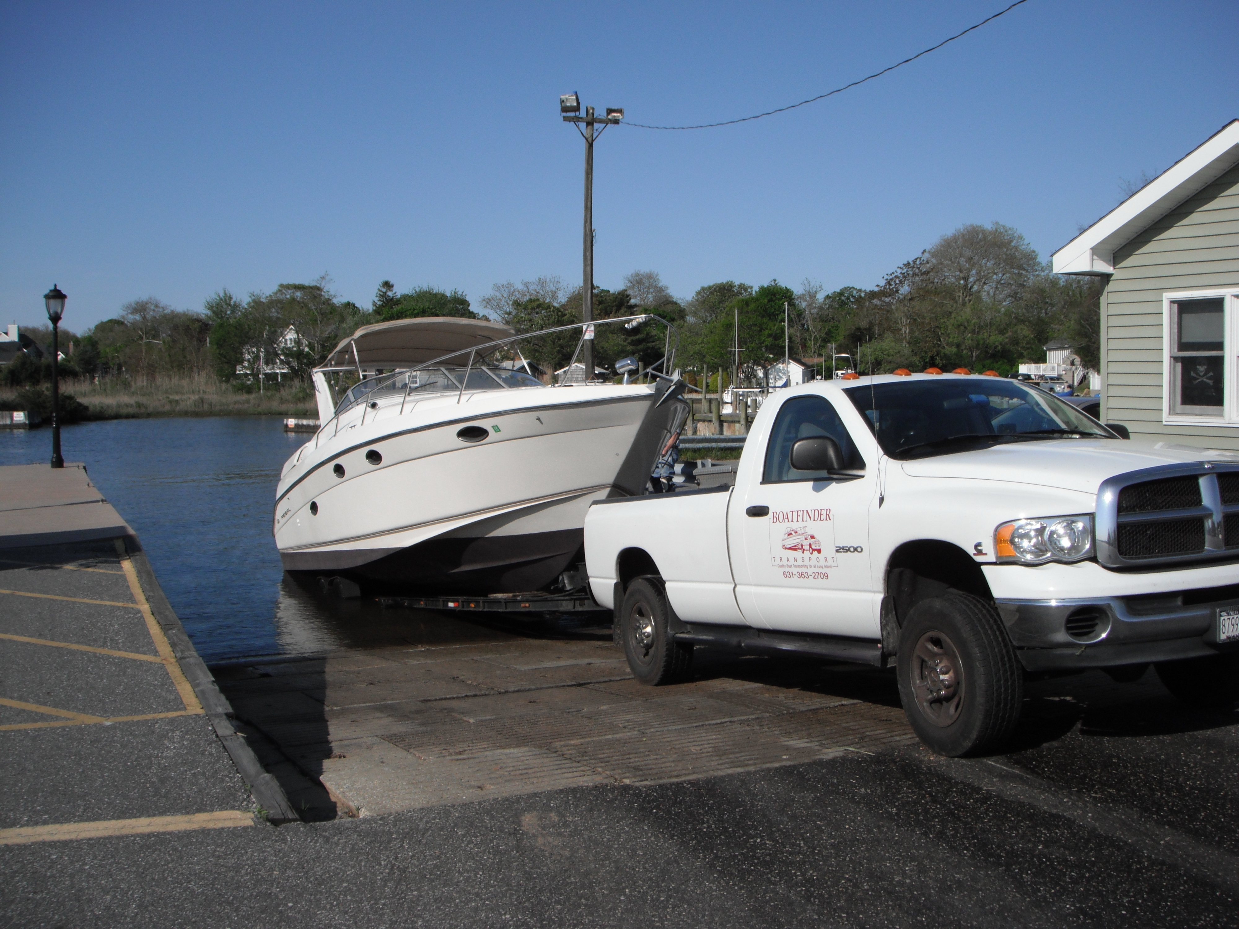 Boat Transporting Services Long Island